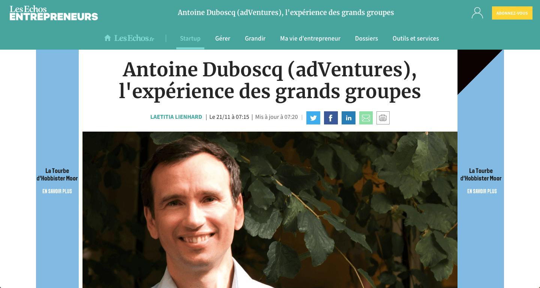 Antoine Duboscq - Les Echos